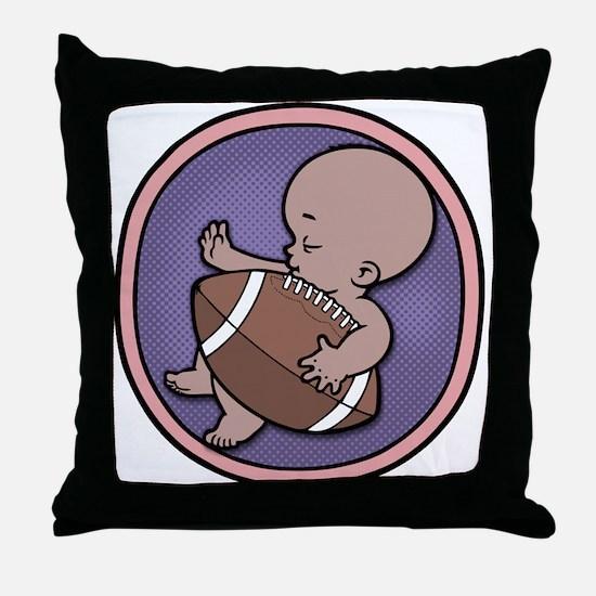 Future Footballer -ds Throw Pillow