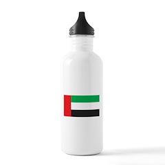 United Arab Emirates Flag Water Bottle