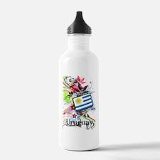 Flower Uruguay Water Bottle