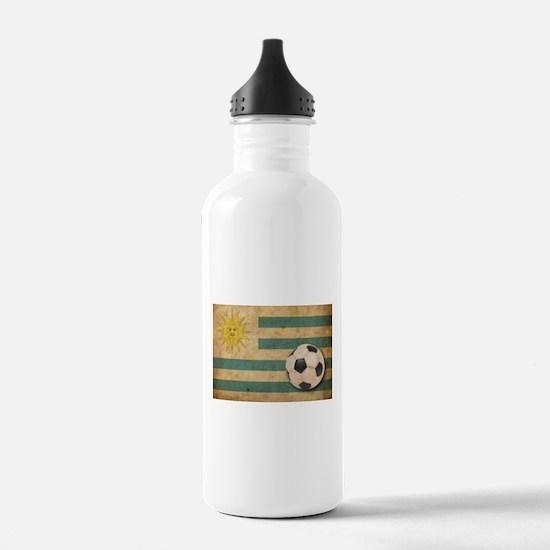 Vintage Uruguay Football Water Bottle