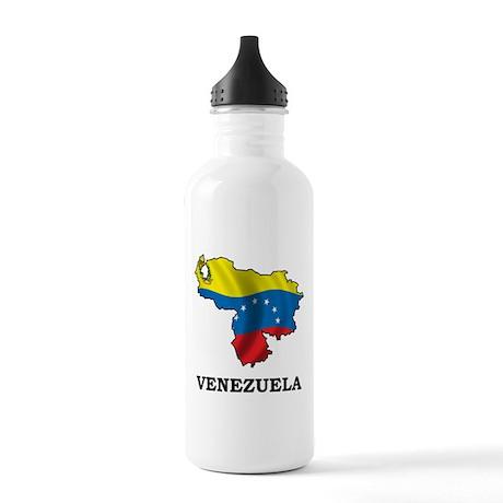 Map Of Venezuela Stainless Water Bottle 1.0L