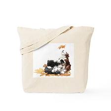 Funny Beardie Tote Bag