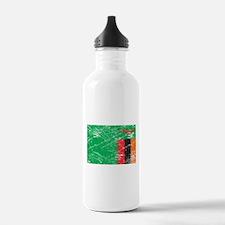 Vintage Zambia Flag Water Bottle