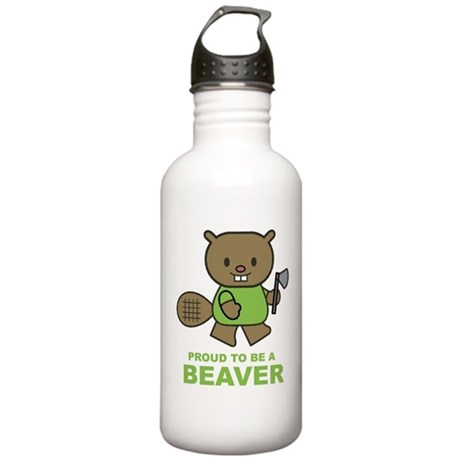 Proud To Be A Beaver Stainless Water Bottle 1.0L