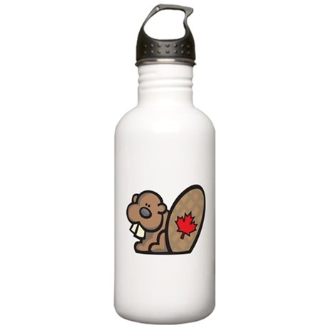 Canada + Beaver Stainless Water Bottle 1.0L
