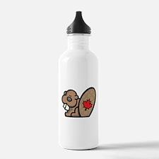 Canada + Beaver Water Bottle