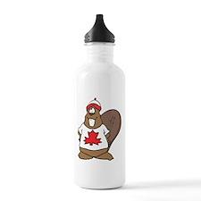 Canada Beaver Sports Water Bottle