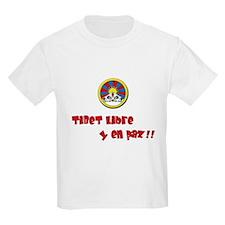 Camiseta blanca para niño/ Kids T-Shirt