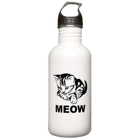 Meow Cat Stainless Water Bottle 1.0L