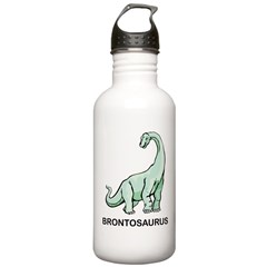 Brontosaurus Water Bottle