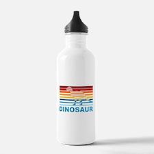 Colorful Dinosaur Water Bottle