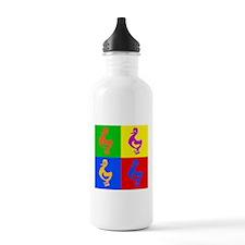 Pop Art Duck Water Bottle
