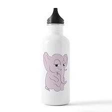 Cute Cartoon Elephant Water Bottle