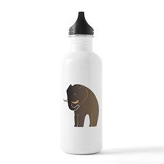 Stylized Elephant Water Bottle