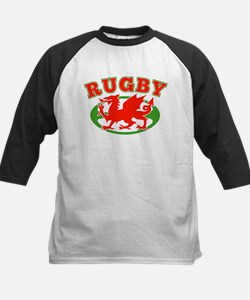 wlaes rugby ball Tee