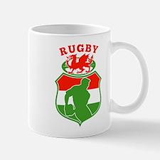 wales rugby player Mug
