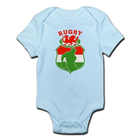 wales rugby player Infant Bodysuit