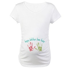 Happy Holidays from Bump Maternity T-Shirt