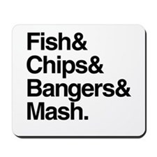 Fish & Chips Mousepad
