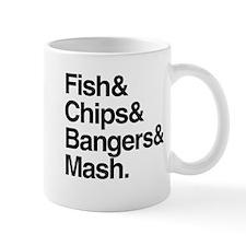 Fish & Chips Small Mug