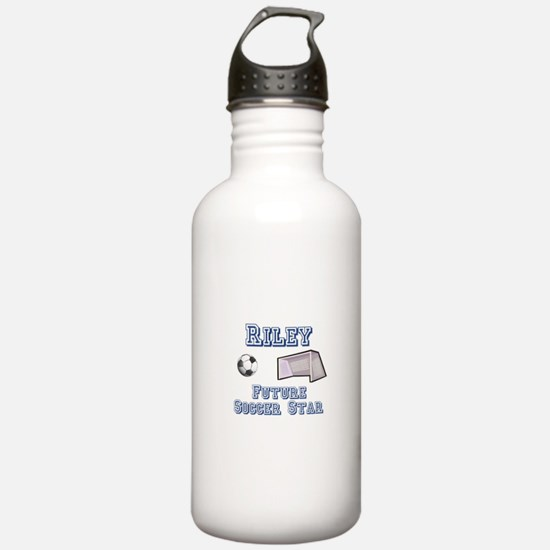 Riley - Future Soccer Star Water Bottle