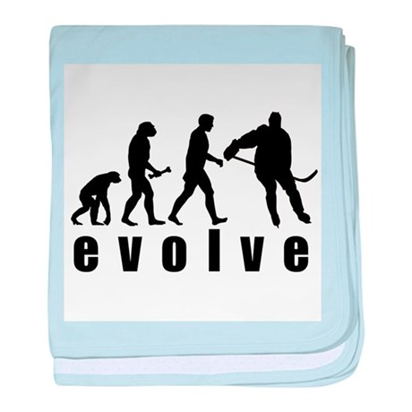 Evolve Hockey baby blanket