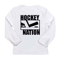 Hockey Nation Long Sleeve Infant T-Shirt