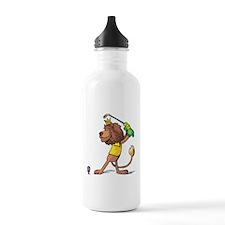 Golfing Lion Water Bottle