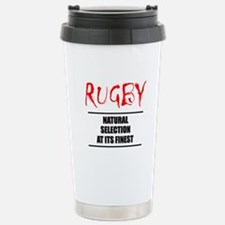 Rugby Natural Selection Stainless Steel Travel Mug