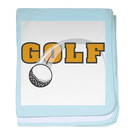Golf Nuts baby blanket