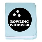 Bowling Widower baby blanket