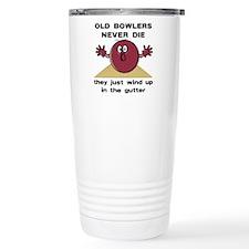 Old Bowlers Never Die Stainless Steel Travel Mug
