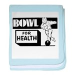 Bowl for Health baby blanket