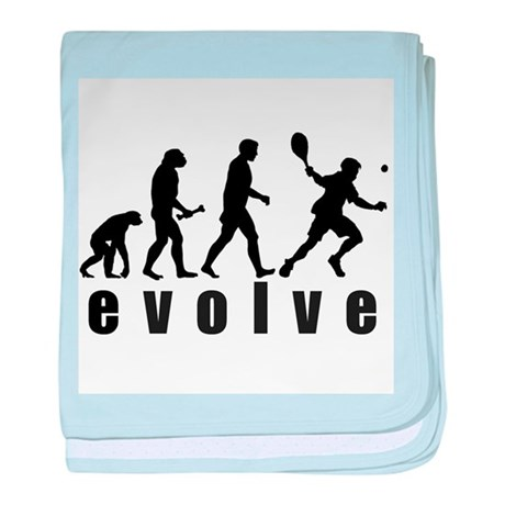 Evolve Tennis baby blanket