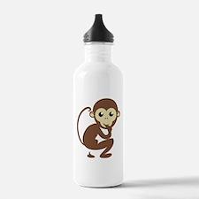Poo Monkey Water Bottle
