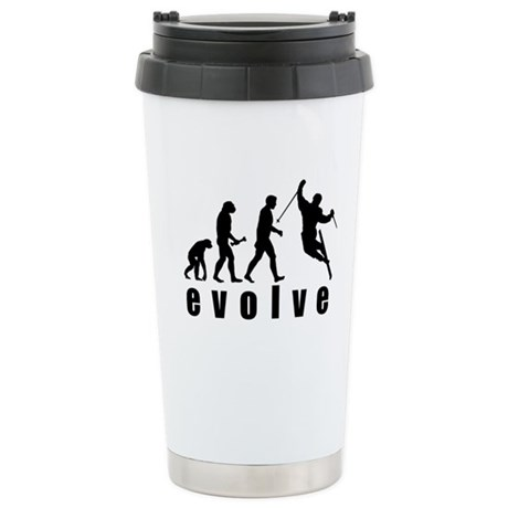 Evolve Skiing Stainless Steel Travel Mug