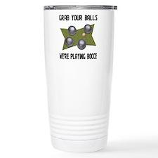 Bocce Travel Mug