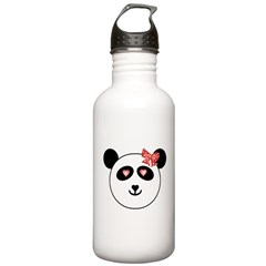 Pop Art Panda Water Bottle