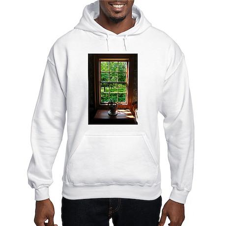 Colonial Cottage Window Hooded Sweatshirt