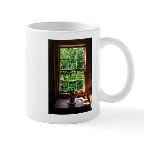 Colonial Cottage Window Mug