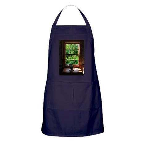 Colonial Cottage Window Apron (dark)