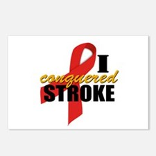 I Conquered Stroke Postcards (Package of 8)