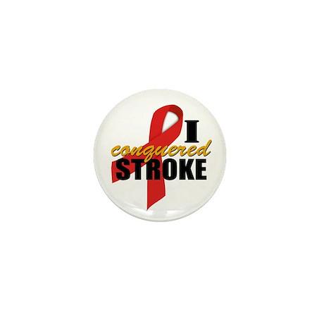 I Conquered Stroke Mini Button (10 pack)