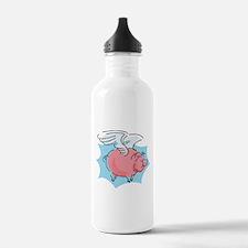 Cute Flying Pig Water Bottle