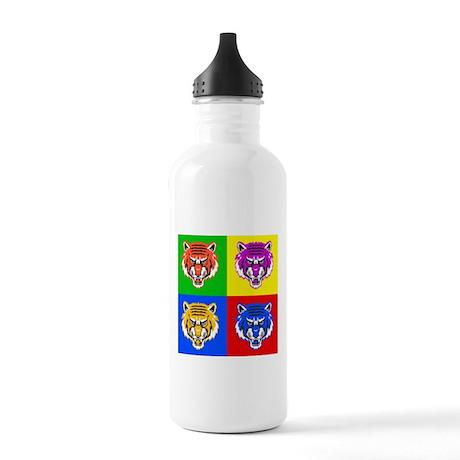 Pop Art Tiger Stainless Water Bottle 1.0L