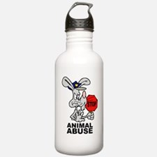 Stop Animal Abuse Water Bottle