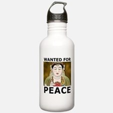 Wanted For Peace Water Bottle