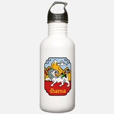 Snow Lion + Dharma Water Bottle