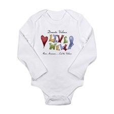 Domestic Violence (lw) Long Sleeve Infant Bodysuit
