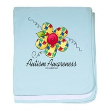Autism Awareness baby blanket